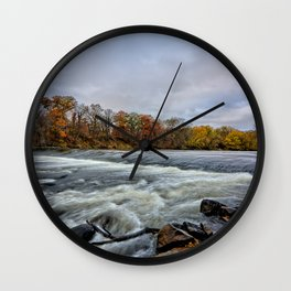 Heery Woods Dam Wall Clock