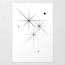 Silent Explosions Art Print