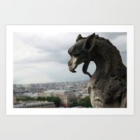 Gargoyle 1 Art Print