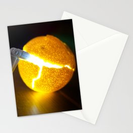 Reading Light in Clementine Peel Stationery Cards
