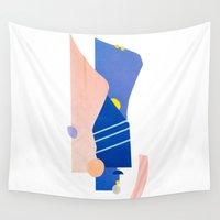 southwest Wall Tapestries featuring southwest 2 by cardboardcities