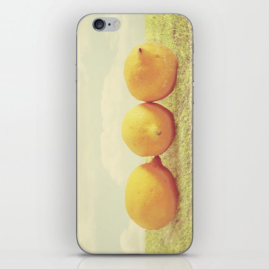 Lemongrass iPhone Skin