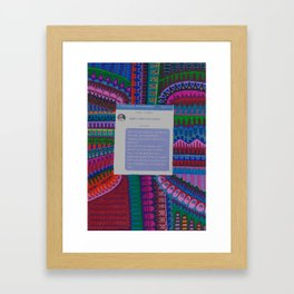 Dorito- Put Him In His Place Project Framed Art Print
