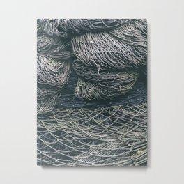 Net Pile V Metal Print
