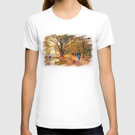 Stroll In The Park. T-shirt