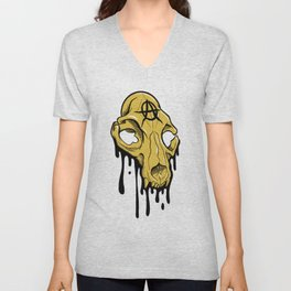 Dripping with Anarchy Unisex V-Neck