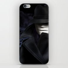 Invisible man iPhone & iPod Skin