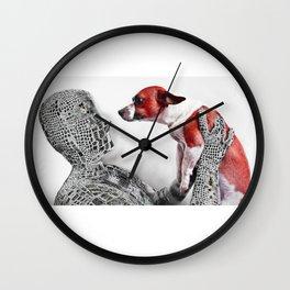 Data Not Found Wall Clock