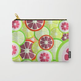 Citrus pattern background 2 Carry-All Pouch