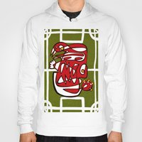 liverpool Hoodies featuring Suarez - Liverpool  by Ray Kane