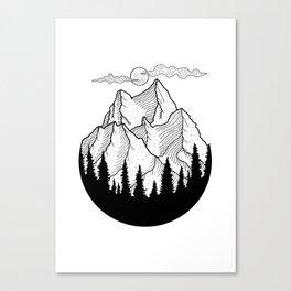 Landscape, Nature Art Canvas Print