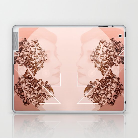 Old School Rocks! Audrey Hepburn Version Laptop & iPad Skin