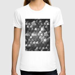 as the curtain falls (monochrome series) T-shirt