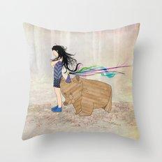 Beregezellig Throw Pillow