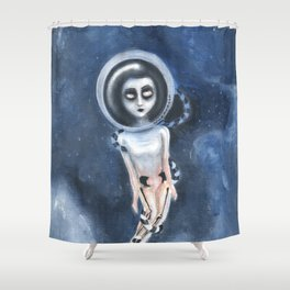 Lost out of the dream Shower Curtain