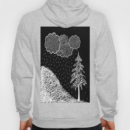 Falling Music and 100% accumulation  Hoody