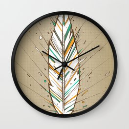 Flight Wall Clock