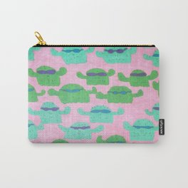 Cool Cactus Pattern Carry-All Pouch