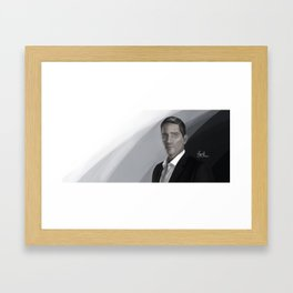 The Watcher and Executioner  Framed Art Print