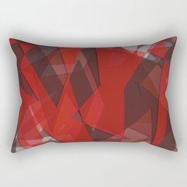 Shades of Red Rectangular Pillow