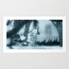 Astigmatismo #1 Art Print