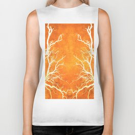 Branches of Fire Touch Biker Tank