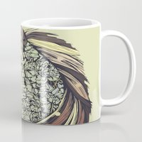 horse Mugs featuring Beautiful Horse Old by dvdesign