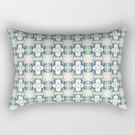 basket weave bg Rectangular Pillow
