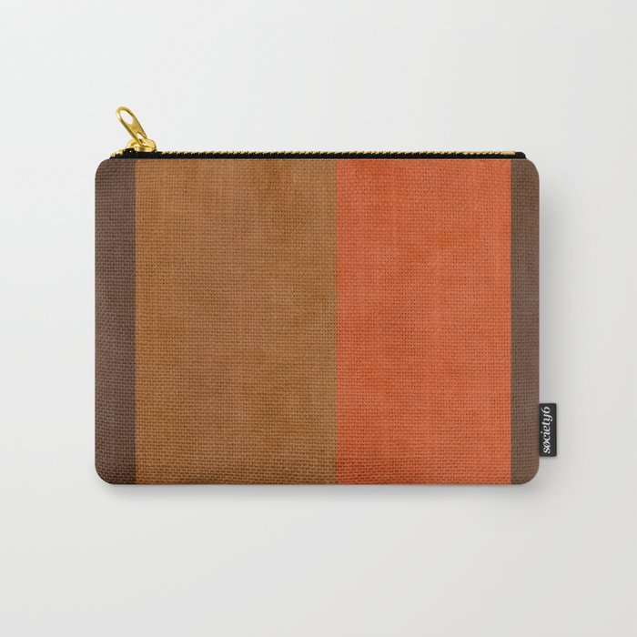 Shades of Brown Carry-All Pouch