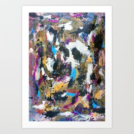 Ghost in the Mirror Art Print
