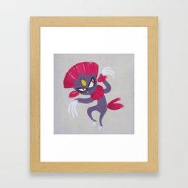 Weavile Framed Art Print