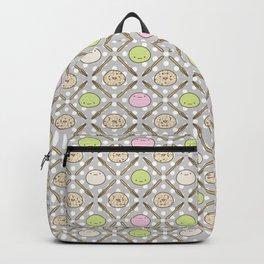 Mochi Kochi | Pattern in Grey Backpack
