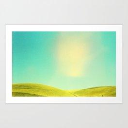 California Countryside Art Print