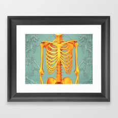 Skeleton II Framed Art Print
