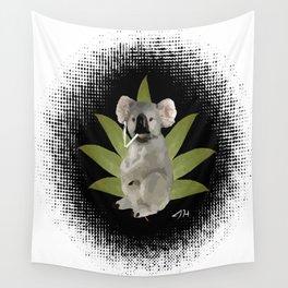 Ganja Koala Wall Tapestry