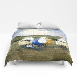 Sheep Painting Comforters