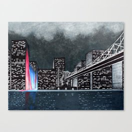 A City of Sirens Canvas Print