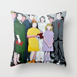 Amarcord Throw Pillow