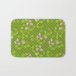 Field clover 2 Bath Mat