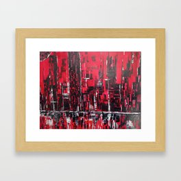 Inflamed Framed Art Print