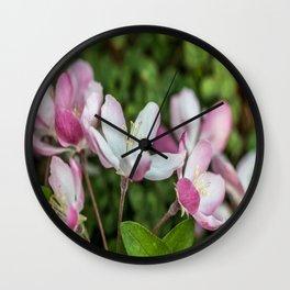 Delicate Spring Bloom Wall Clock