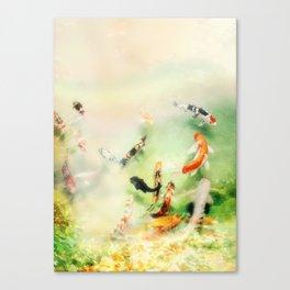 Fish watercolor II Canvas Print