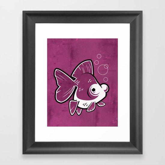 Moor Goldfish Framed Art Print
