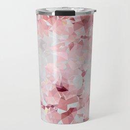 Meshed Up Sakura Blossoms Travel Mug