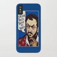 kubrick iPhone & iPod Cases featuring Kubrick by Hugo Maldonado