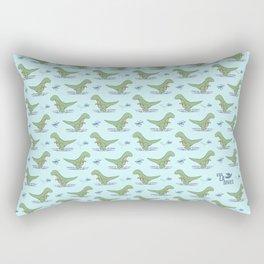 Baby T-Rex Rectangular Pillow