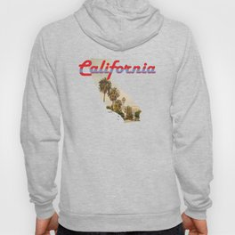 California State Map Outline Hoody