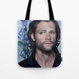 Jared Padalecki. Flowers Tote Bag