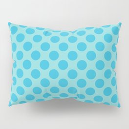Aqua Sea Thalertupfen Polka Dots Pillow Sham