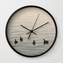 Float on Bye Wall Clock
